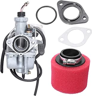 VM22 26MM Carburetor for 110CC 125CC 140CC Motorcycle Dirt Bike Quad ATV Pit Bike w/2-Stage Air Filter