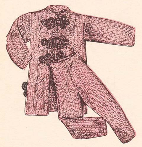Barbie Fashion Doll Lounging Pajamas Knit Vintage Pattern EBook Download (Needlecrafts) (English...