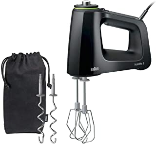 Braun HM5100 MultiMix Hand Mixer Black (Renewed)