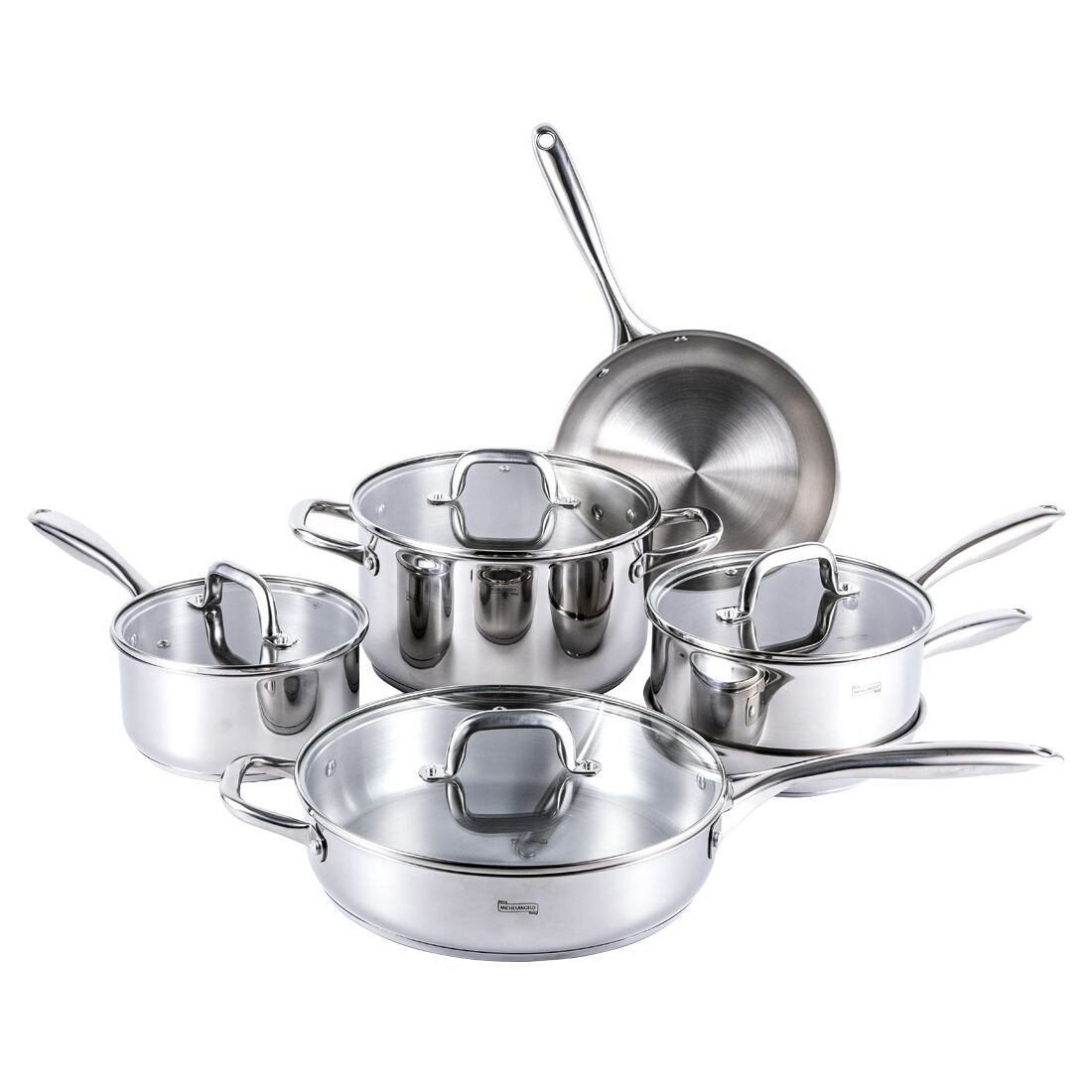 MICHELANGELO Stainless Cookware Technology Induction