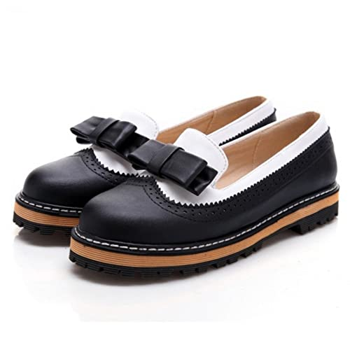 ef7e09404761e Brand Name Women's Black Flat Shoes: Amazon.com