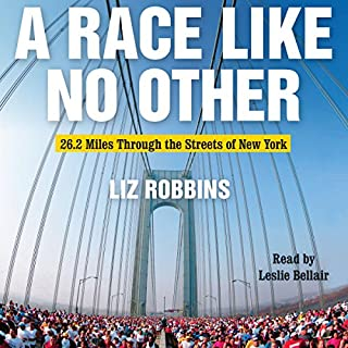 A Race Like No Other audiobook cover art