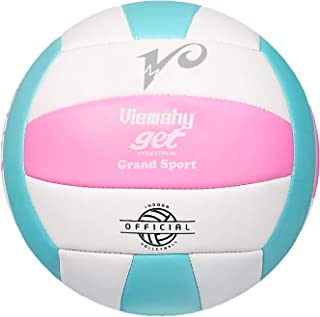 والیبال لمسی سبک Premium - والیبال رسمی داخل سالن / فضای باز ضد آب برای پسران / دختران ، هدیه برای تولد ، روز کریسمس