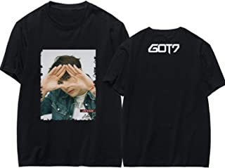 JUNG KOOK Kpop GOT7 Shirts Jackson Bambam 2019 World Tour Keep Spinning T-Shirt Tee
