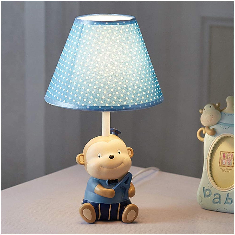 Lámpara de mesa para para para nios de dibujos animados de habitaciones Pequeo mono dormitorio lámpara de cabecera creativo caliente romántico lindo muchacho de la muchacha turística decorativo Lámparas-  El nuevo outlet de marcas online.