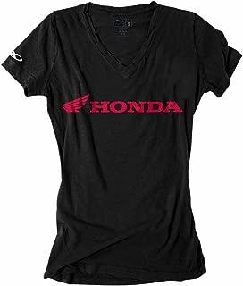Factory Effex Women's Honda T-Shirt - Small/Black