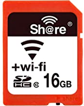 GuDoQi Wireless WiFi Tarjeta SD 16GB SHDC Clase 10 Tarjeta De Memoria Flash para Canon Nikon Casio Cámara Digital SLR