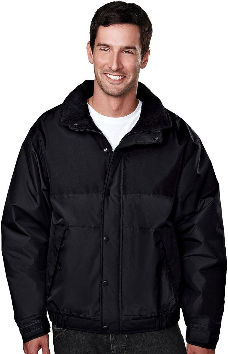 Tri-Mountain Windproof Winter Jacket w/Heavyweight Toughlan Nylon. 8914