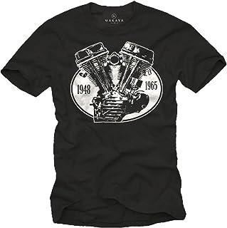 Camiseta con Motor - Panhead - Hombre