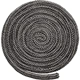 Boao Wood Stove Door Gasket Stove Fiberglass Cord Wood Stove Rope Seal Replacement Gasket for Woodburning Stoves (1/2 x 84 Inch)