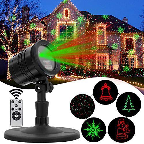 Outdoor Projector Laser Light Show for Christmas
