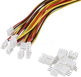 10 reeksen Mini Micro Jst 2.0 Ph 3 Pin Connector Plug Mannelijke Met 150mm Kabel & Vrouwelijke