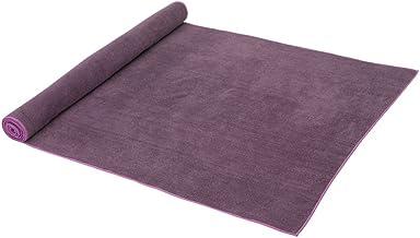 حصيرة يوغا منشفة من المايكروفايبر حصيرة صغيرة الحجم لليوغا الساخنة