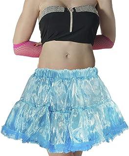 Rimi Hanger Womens Fancy Turquoise Organza Tutu Skirt Ladies Hen Night Party Wear Mini Skirt One Size