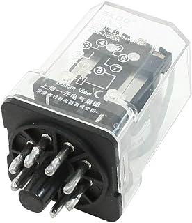 X-DREE JTX-2C DC 24V Coil AC 220V 7.5A 24VDC 10A DPDT Power Relay 8P(JTX-2C DC 24 ν Bobina CA 220 V 7.5A 24 νDC 10A DPDT R...
