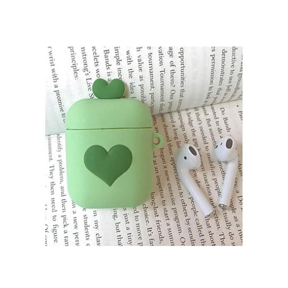 マサッチョ天使美しいJielongtongxun001 ヘッドフォンカバー、AirPodsワイヤレスイヤホンカバー、かわいい愛漫画シリコーンアンチドロップパーソナリティクリエイティブスタイル(緑、から選ぶべき多くのスタイルがあります) 防水 (Color : ピンク)