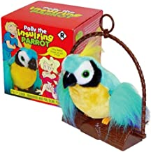 Motion Activated Offensive Polly The Insulting Parrot Bird B bog cursing parrot
