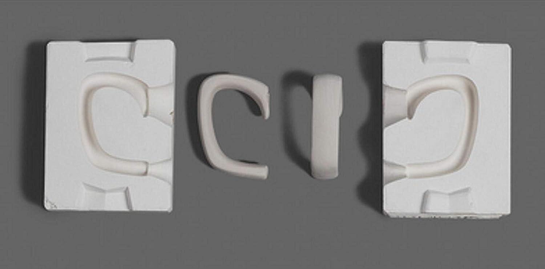 WellieSTR 1 Set Mini 3D Plaster Ceramic Handle Pot Molds Now free shipping Cup Jacksonville Mall Tea