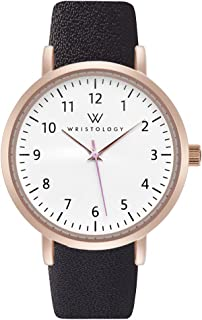 WRISTOLOGY Olivia - 3 Options - Womens Numbers Rose Gold Watch