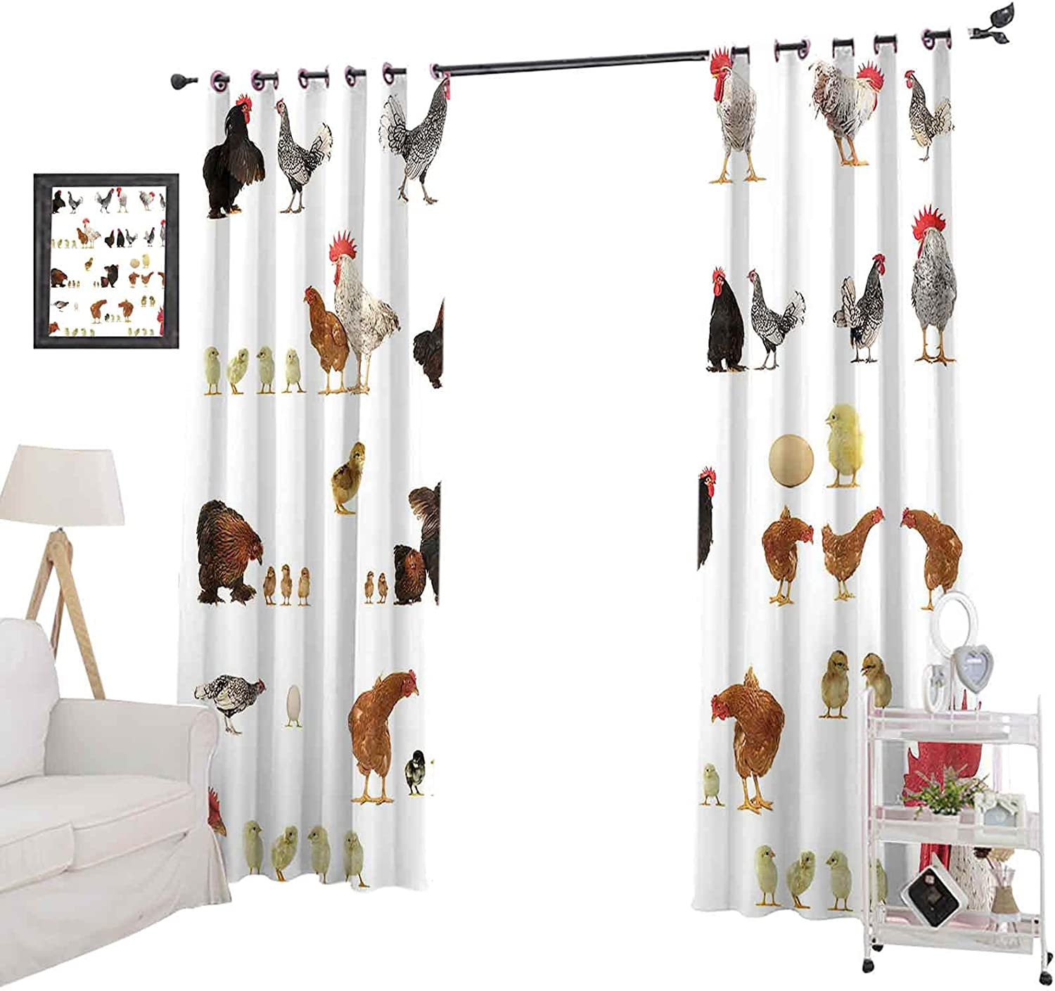 Blackout Curtains 72 Inches Gifts Store Long Window Panel B Kids for Curtain