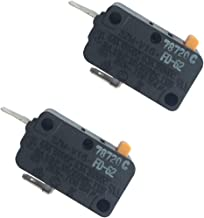LONYE SZM-V16-FD-62 WB24X830 Monitor Switch RE2 for GE Kenmore Starion Microwave WB24X0800 WB24X800 AP2024338 PS237422(Normally Closed)(Pack of 2)