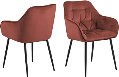 Cooper & Co. Living Stella Dining Chair Set of 2, Coral