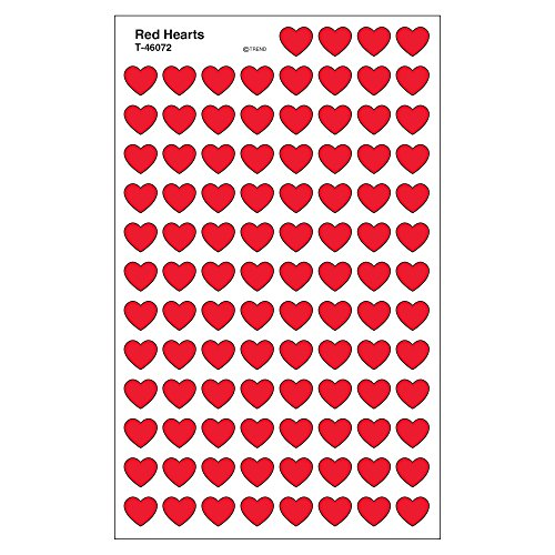 Price comparison product image TREND enterprises,  Inc. Red Hearts superShapes Stickers,  800 ct