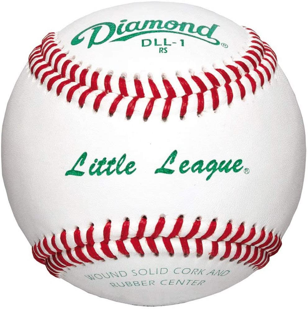 Amazon.com: Diamond Dll-1 Little League Leather Baseballs 12 Ball Pack:  Sports & Outdoors