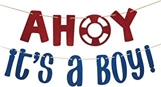 Ahoy Its A Boy Decorations