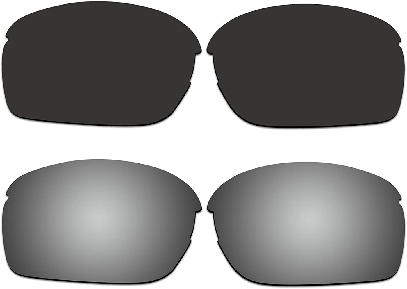 2 Pair ACOMPATIBLE Replacement Same day shipping Polarized RPM Deluxe S for Lenses Oakley