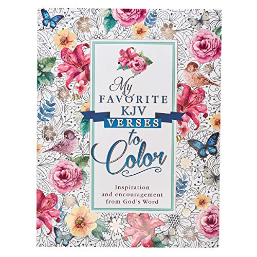 My Favorite KJV Verses to Color Inspirational Adult and Teen Coloring Book