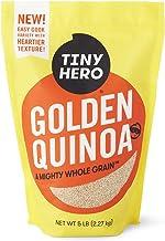 Tiny Hero Golden Quinoa, 5 lb Bag - Non-GMO Verified Canadian Grown Complete Protein Whole Grain Gluten Free Kosher Prewas...