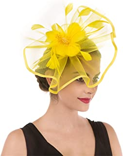 Best womens yellow church hat Reviews