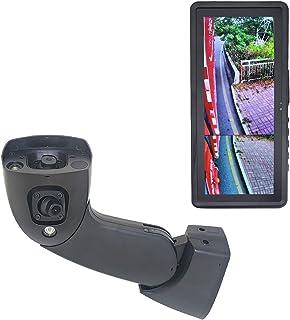 MAXWIN(マックスウィン) サイドビューモニター トラック用 左側 サイドカメラ 遠景 近景 2カメラ 12.3インチ 液晶モニター ウインカー連動 HDR 暗視 録画 オートディマー デジタルサイドビューシステム SV5-SID01