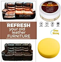 888mili Household Leather Cleaner, Multifunctional Leather Refurbishing Cleaner Leather Conditioner for Leather Apparel, Furniture, Auto Interior, Shoes and Accessories (White)