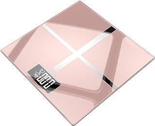 MHBY Báscula de Peso, báscula electrónica doméstica de Pantalla Grande, báscula de baño, Carga USB, Pantalla Digital LCD, báscula de Peso de inducción automática