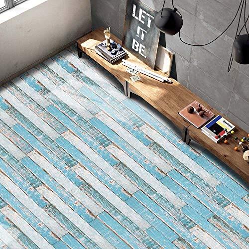 LICCC DIY 20x50cm Etiqueta engomada autoadhesiva de la Teja Arte Piso de la Pared DIY Cocina Decoración Decoración Impermeable Mosaico Decoración Arte Mural (Color : G)