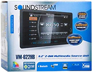 "Soundstream VM-622HB Digital Media Receiver / 6.2"", 2-DIN, with Bluetooth 4.0 & MHL Android PhoneLink, A2DP Wireless MP3 A... photo"