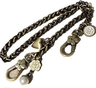 Misright DIY Iron Flat Chain Strap Handbag Chains Purse Straps Shoulder Cross Body 60CM