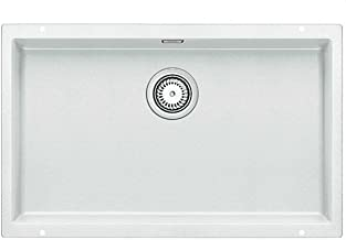 BLANCO SUBLINE 700-U - Fregadero (Blanco, 1 senos, 700 x 400 mm, 19 cm)