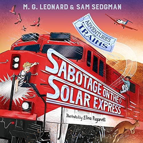 Couverture de Sabotage on the Solar Express