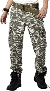 hower Men's Fashion Quick Dry Lightweight Zip Off Outdoor Fishing Travel Capri Pant