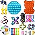 22-26 Piezas Sensory Fidget Toys, Juego de Juguetes sensoriales, Juego De Juguetes Sensoriales Fidget Toys Set Alivia El Estrés TDAH Adicción Y La Ansiedad Fidget Toy para Adultos, Niños de LICHENGTAI
