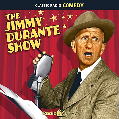 The Jimmy Durante Show audiobook cover art