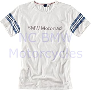 BMW Genuine Motorrad Men T-Shirt Off White L Large