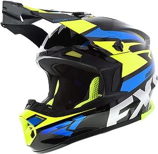 FXR Blade 2.0 Force Helmet - Hi-Vis/Black/Blue - XSM