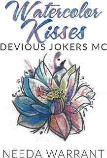 Watercolor Kisses (Devious Jokers MC Book 1)
