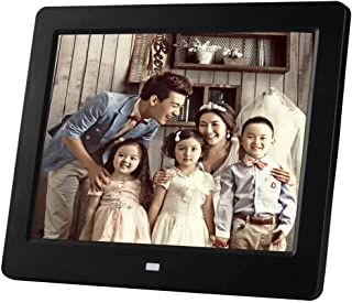 Supported Background Music 1080P Video USB SD Solt Photo Frame,Black 13.3In IPS Display WW/&C Digital Picture Frame Motion Sensor