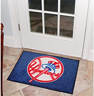 MLB Novelty All-Star Mat MLB Team: New York Yankees - Secondary Logo, Size: 1'8