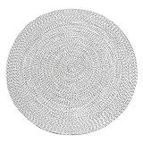 PTY Hand Geflochten Teppich Geflochtener runder Juteteppich Handgewebte runde Juteteppiche für...